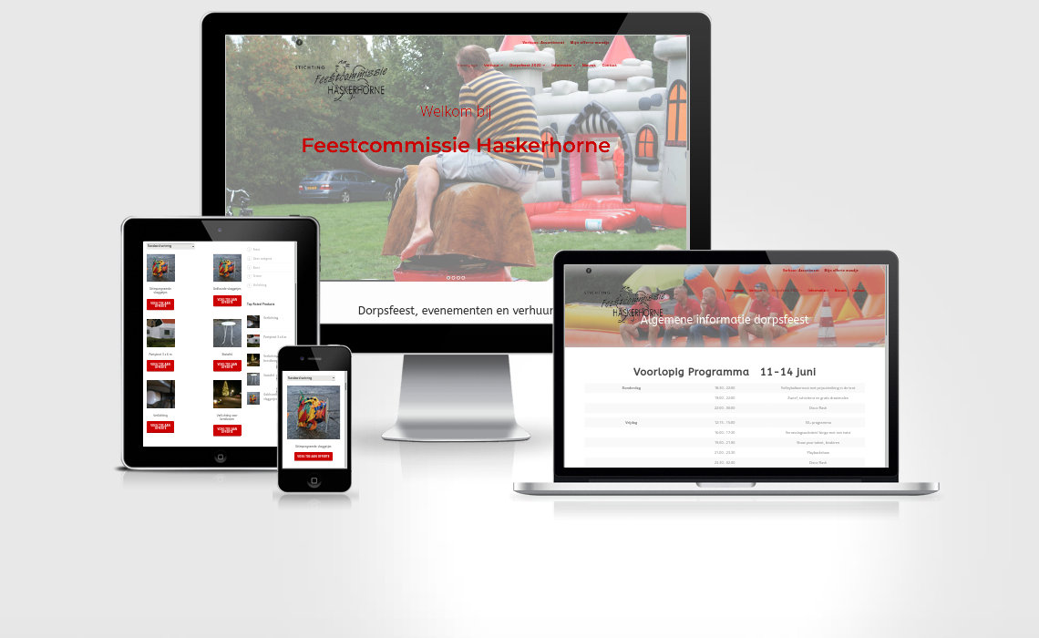 Webshop feesthaskerhorne.nl