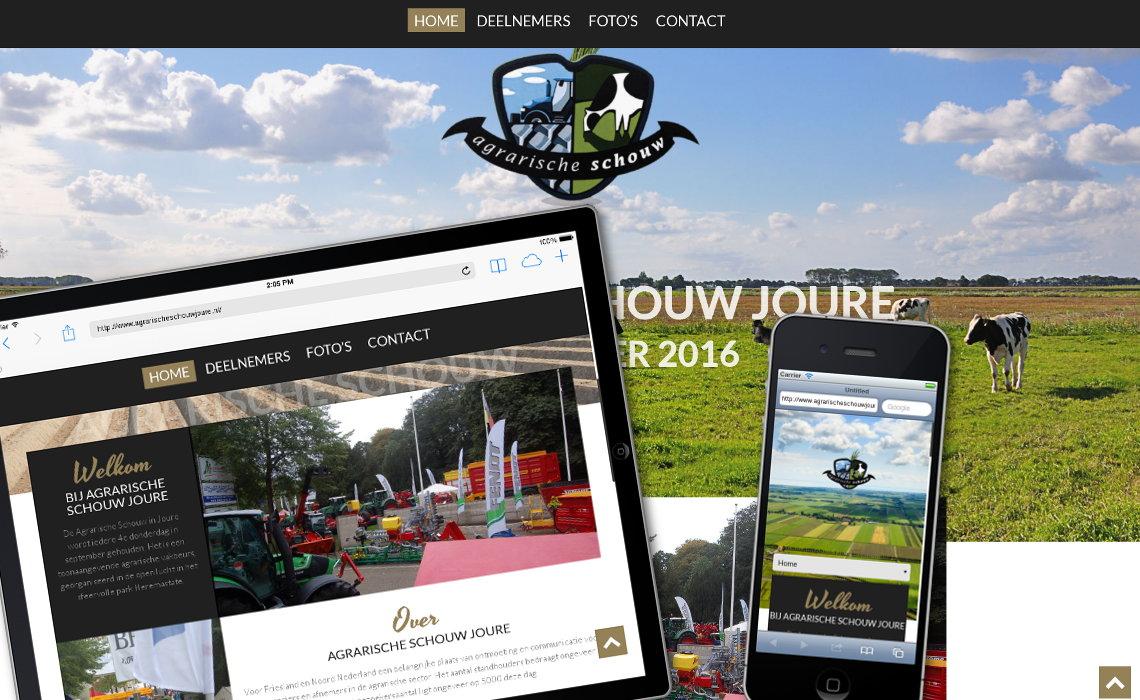 Website agrarischeschouwjoure.nl