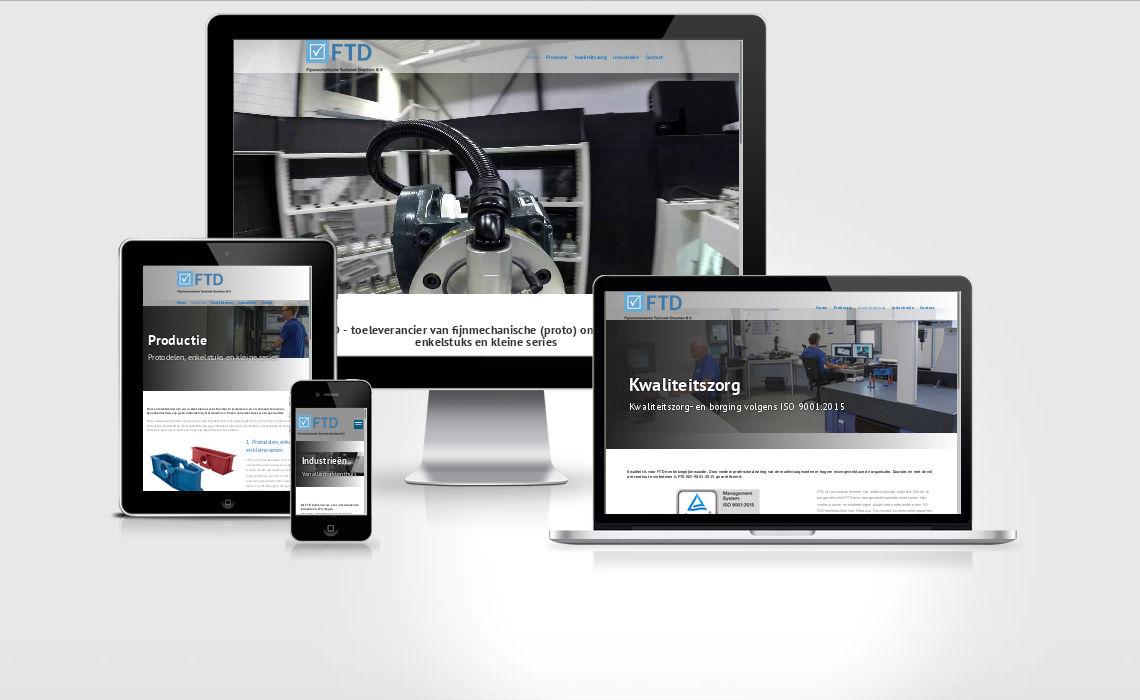 Website ftdbv.nl