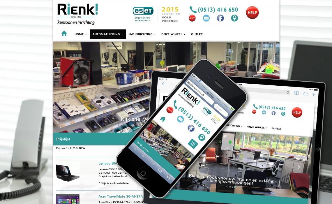 Website rienk.nl