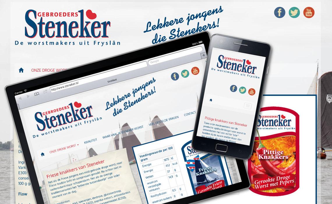 Website steneker.nl