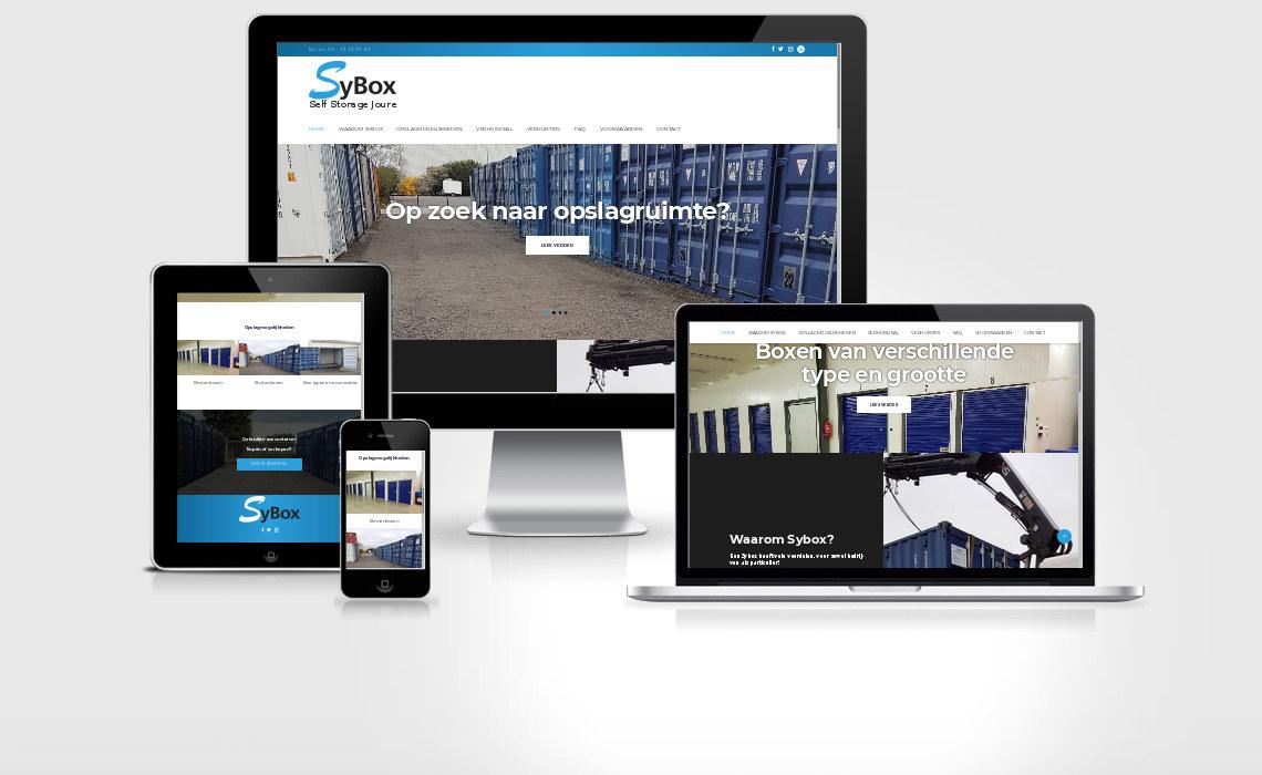 Website sybox.nl